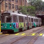 MBTA Green Line train. (Adam E. Moreira/Courtesy Wikimedia Commons)